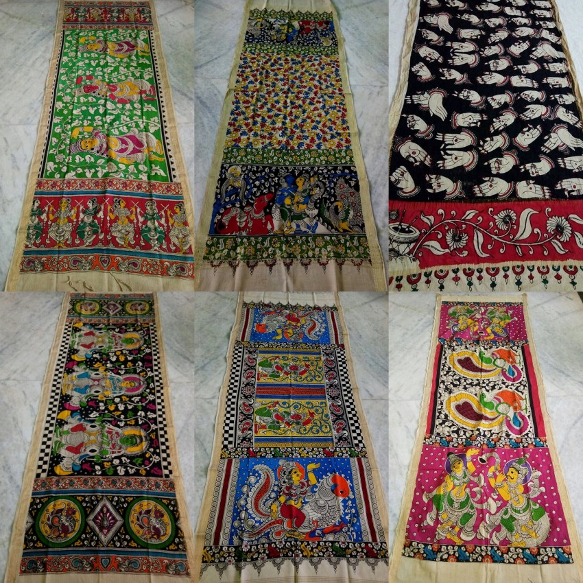 Assorted Kalamkari Dupattas