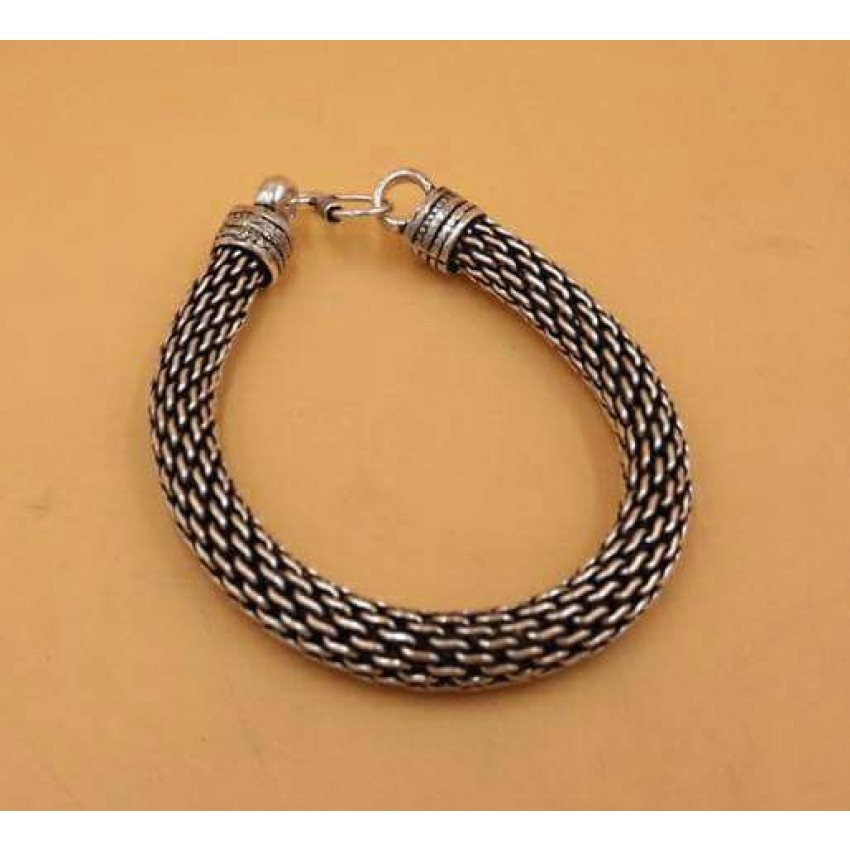 GERMAN SILVER NET BRACELET